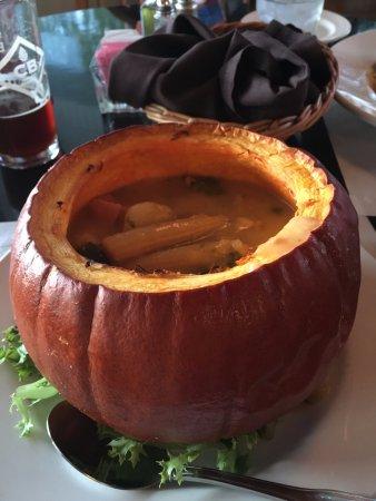 Penn Yan, Estado de Nueva York: Pumpkin Pork Stew very good. Unique!