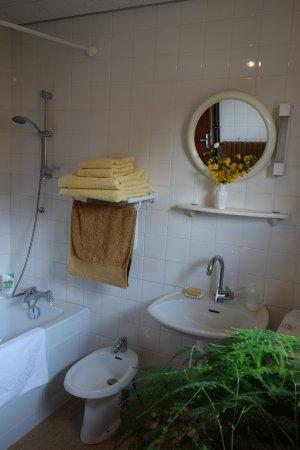 Montcabrier, Francja: The bathroom / la salle des bains.