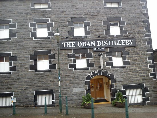 Oban Distillery: Main Entrance
