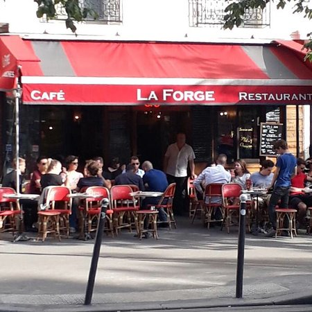 caf restaurant la forge paris restaurant avis num ro de t l phone photos tripadvisor. Black Bedroom Furniture Sets. Home Design Ideas