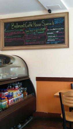 Belmont, MA: Bellmont Caffe