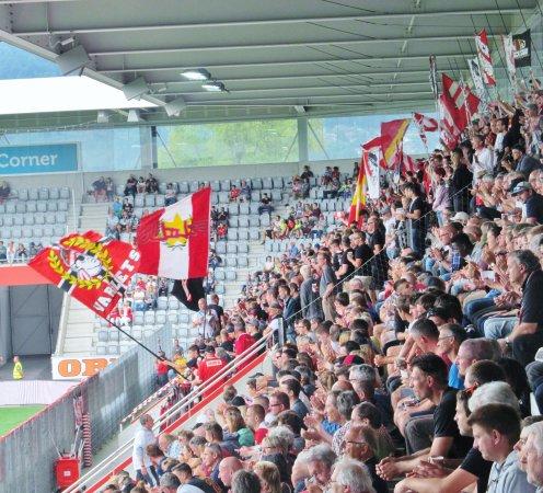 Thun, Schweiz: the ultras
