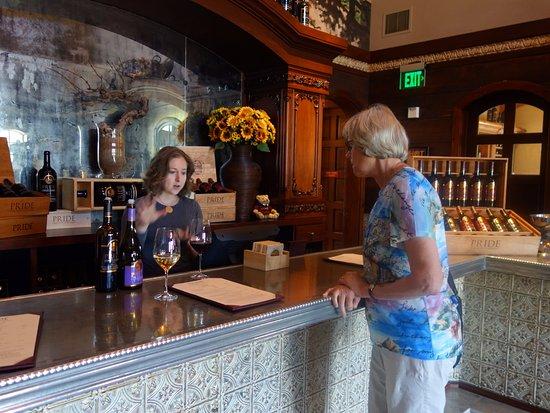 Santa Helena, Califórnia: Pride Mountain Winery