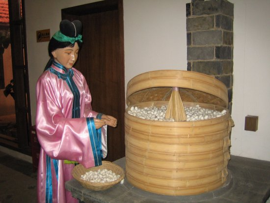 Suzhou Silk Museum: Родина шелкопрядения. Музей шелка