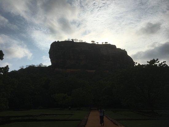 Palatset på Sigiriya (Lejonets berg): Sigiriya rock
