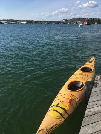 Yellowknife, Canadá: tandem kayak on GSL