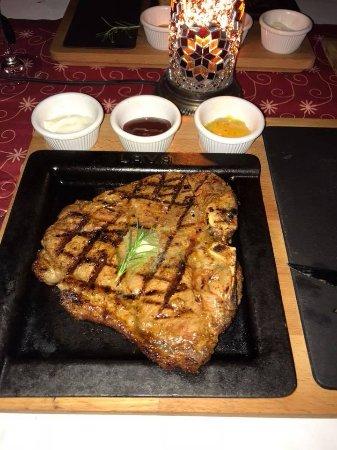 TUI SENSIMAR Marmaris Imperial Hotel: Steak House - T-bone - amazing