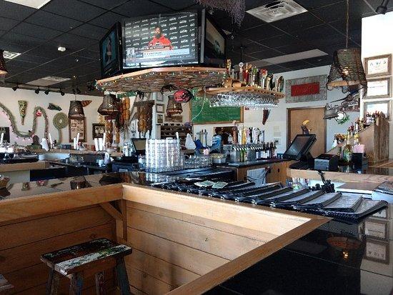 Southern Pines, Carolina del Nord: The Full Moon Oyster Bar