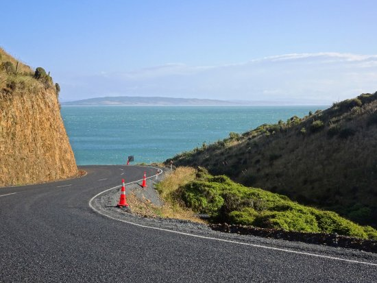 Straße zum Nugget Point