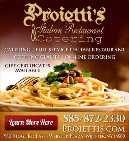 Proietti S Italian Restaurant Webster Menu Prices Reviews Tripadvisor