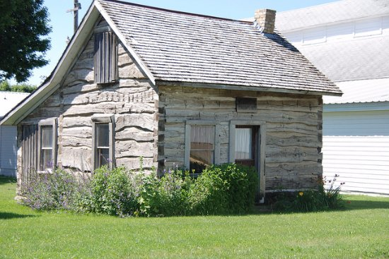 Slayton, MN: This authentic cabin was built n 1872 by Ole Wornson. The cabin is open by request during the su