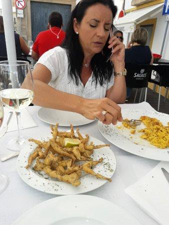 Portalegre, Portugal: COMIENDO