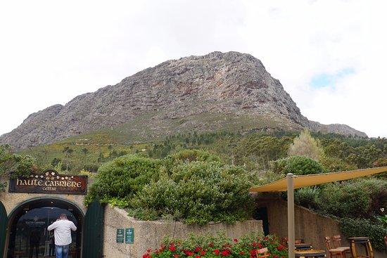Franschhoek, Sør-Afrika: Haute Cabriere Tasting Room