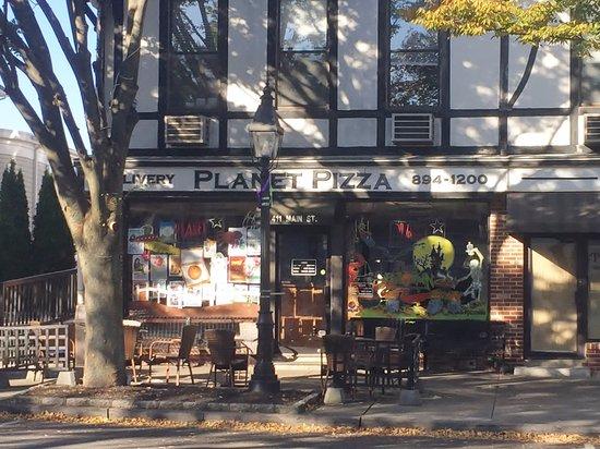 Planet Pizza, Ridgefield CT