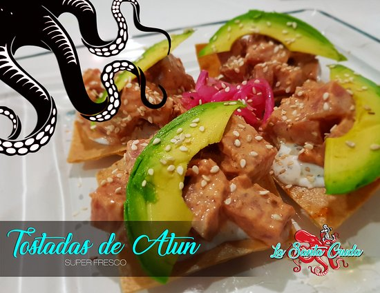 Cuautitlan Izcalli, Mexique : Tostadas de atún fresco