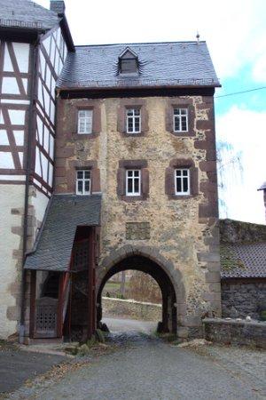Lauterbach, Almanya: Schloß Eisenbach - Tor der Vorburg