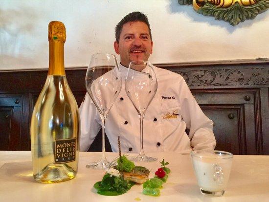 Campo di Trens, Italia: Chef Peter Girtler