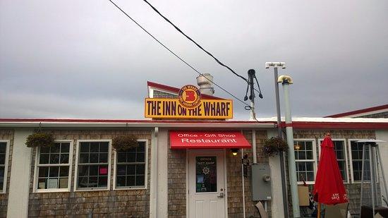 Lubec, Мэн: Entrance to both the Inn and restaurant