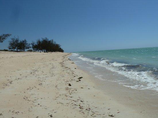 Chuiba, Mozambique: North view of the same beach