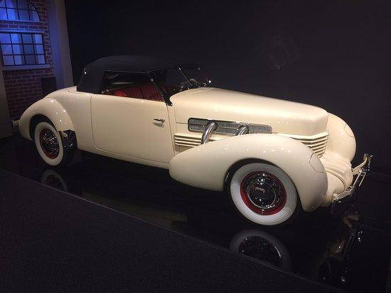 Gateway, โคโลราโด: 1936 Cord Sport Phaeton