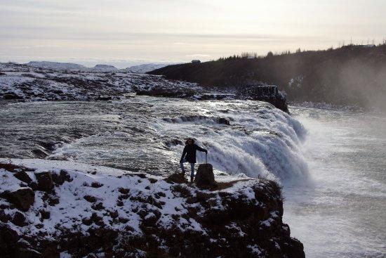 Iceland Horizon: Betreden op eigen risico (namiddag bij Faxifoss)