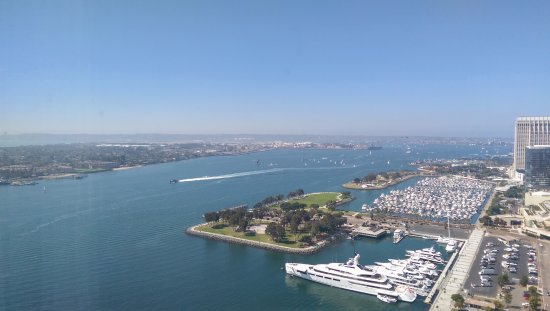 day view from the 30th fl picture of hilton san diego bayfront rh tripadvisor com