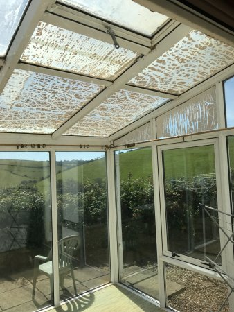 Kingsand, UK: Excuse for a conservatory