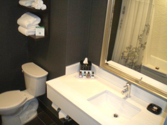Waterfront Hotel Downtown Burlington : Zimmer 611, Bad