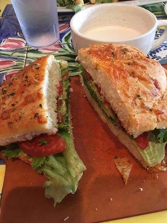Ellensburg, Etat de Washington : BLTA sandwich