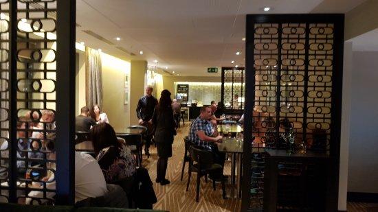 Hilton London Canary Wharf: Ex.Lounge