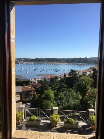 Parador de Hondarribia: Room with a view!