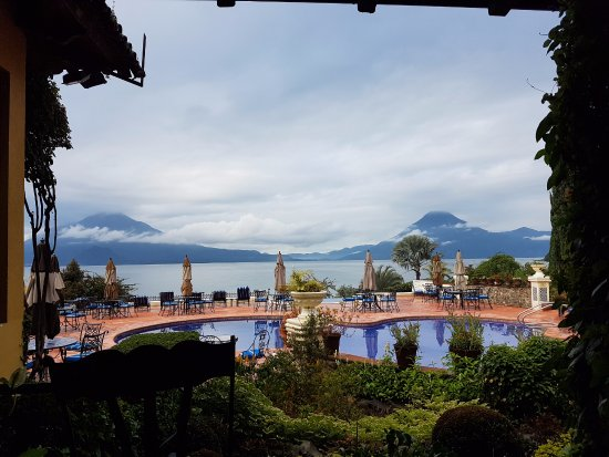 Hotel Atitlan: From the dining area