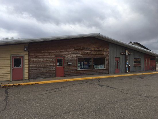 Slayton, MN: Front of Museum