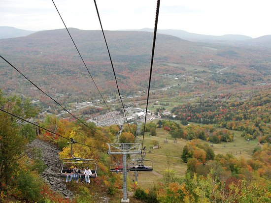 Hunter Mountain Gondola Ride, NY