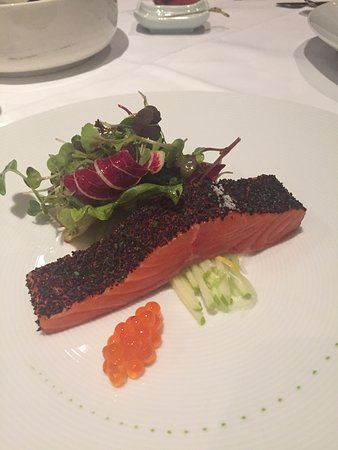 Tetsuya's: Signature salmon dish. YUM!
