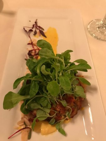 Grafton, VT: Lobster cake/appetizer