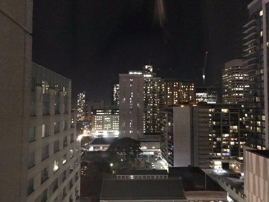 تورونتو ماريوت داونتاون إيتون سنتر: View from my room.