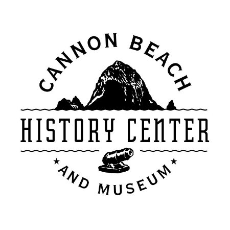 Кэннон-Бич, Орегон: The official logo for the Cannon Beach History Center and Museum
