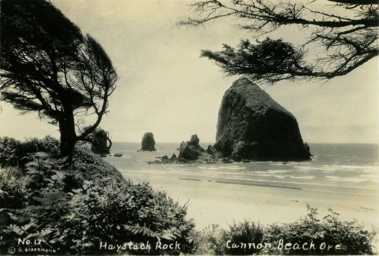Cannon Beach History Center and Museum: Haystack Rock