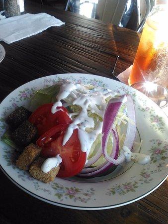 Corydon, IN: Standard wedge salad.  Dressing was very fresh