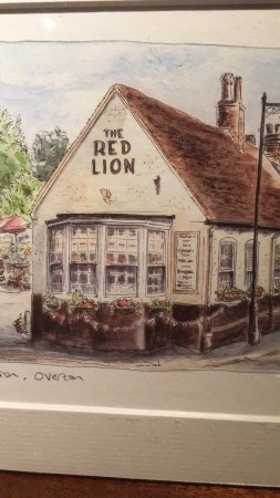 Overton, UK: Red Lion