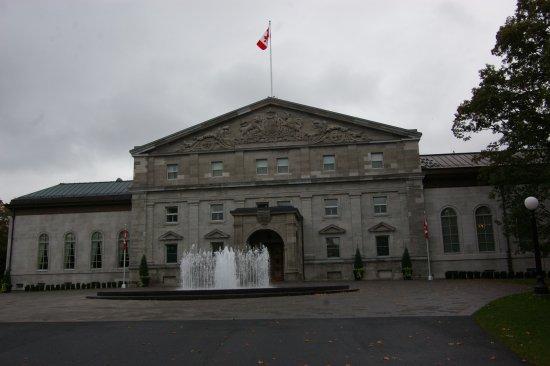 Rideau Hall : The main entrance to the Hall