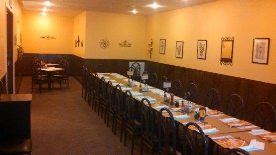 นิวคาสเซิล, อินเดียน่า: Private Room (55 guest capacity)