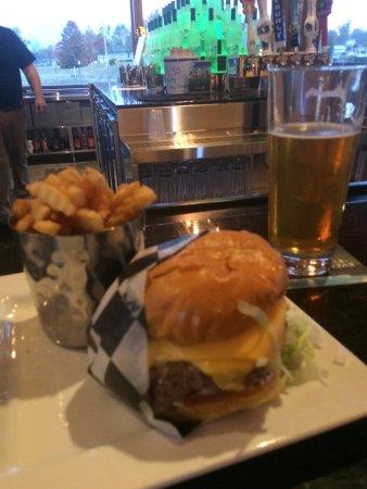 Gordon, WI: A tasty burger!