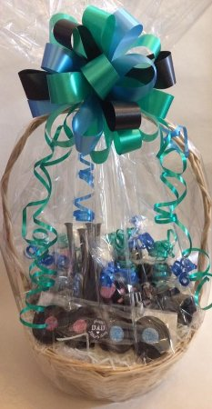 Bradford, UK: Liquorice hampers and other gifts.