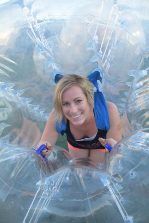 Cabo Party Fun: Inside the human ball