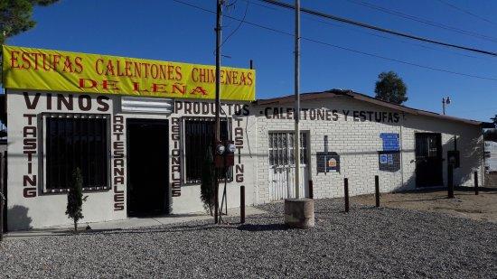 La Rumorosa, Μεξικό: Excelente Wine Tasting y productos regionales