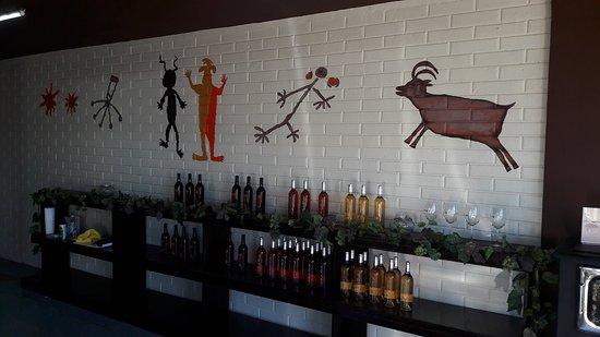 La Rumorosa, المكسيك: Excelente Wine Tasting y productos regionales