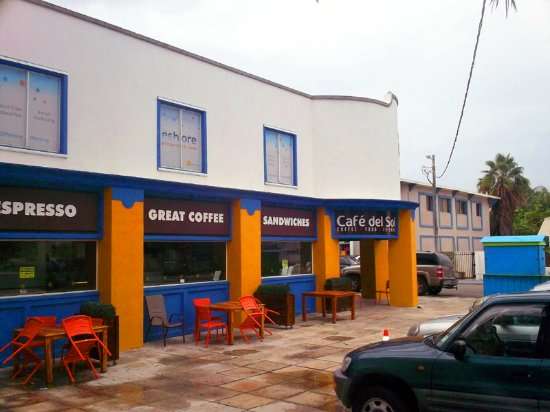 Cafe Del Sol: Side view of the cafe
