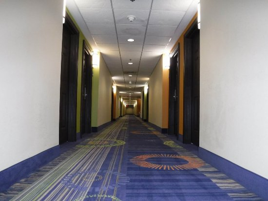 Duluth, Джорджия: Very clean hallways